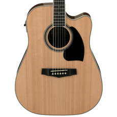 Ibanez NEW Ibanez PF15ECE Dreadnought  - Natural (185)