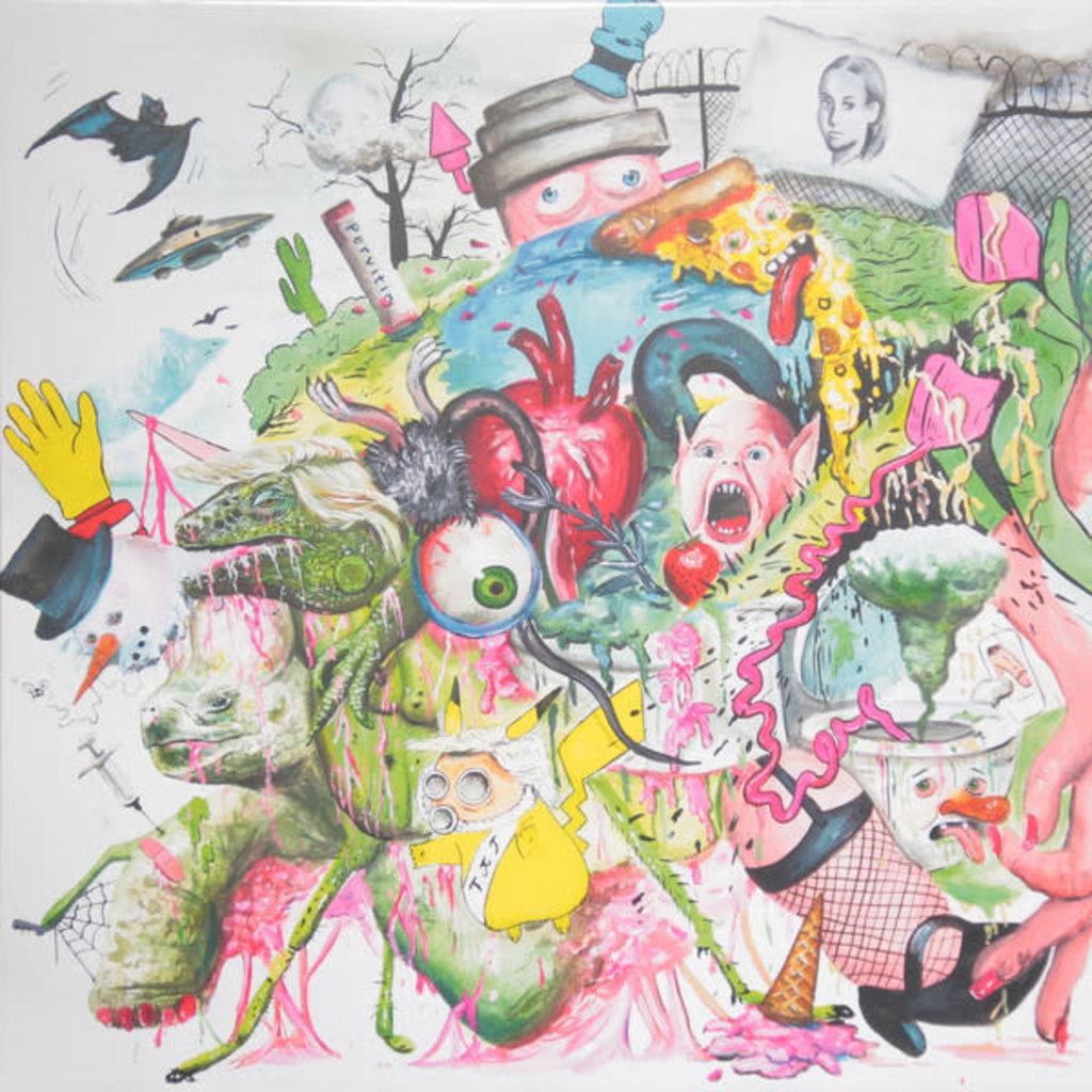 Vinyl NEW Tropical F*** Storm-Braindops- LP Neon Magenta