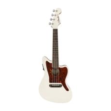 Fender NEW Fender Fullerton Jazzmaster Ukulele - Olympic White (680)