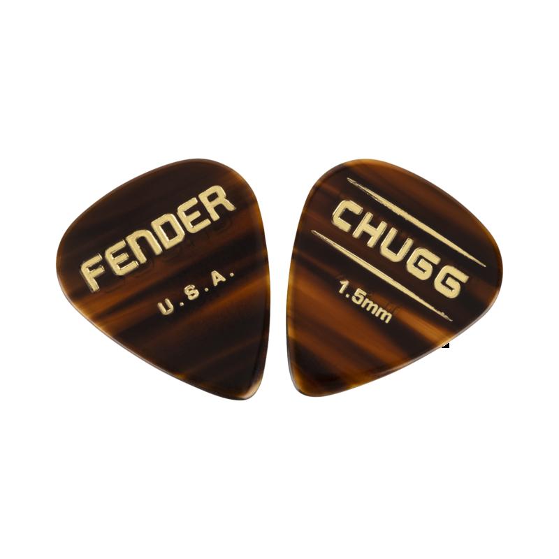 Fender NEW Fender Chugg 351 Picks - 6-Pack
