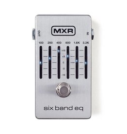 MXR NEW Dunlop MXR 6 Band EQ