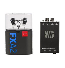 Fender NEW Fender MXA2 In Ear Monitor Bundle