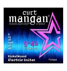 Curt Mangan Curt Mangan Nickel Wound Strings  .009-.042