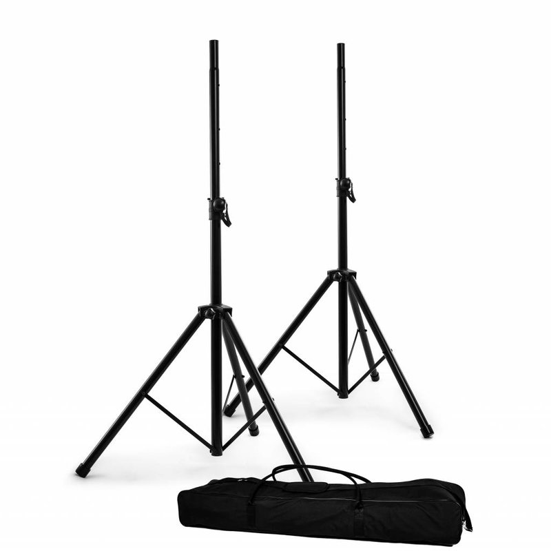 Nomad NOMAD Stands NSS-8033PK Speaker Stand Package, Two 8033 Stands, Carry Bag