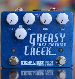Stomp Under Foot NEW Stomp Under Foot Greasy Creek Fuzz Machine - Limited Edition