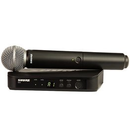 Shure Shure BLX24/SM58 Handheld Wireless Mic System