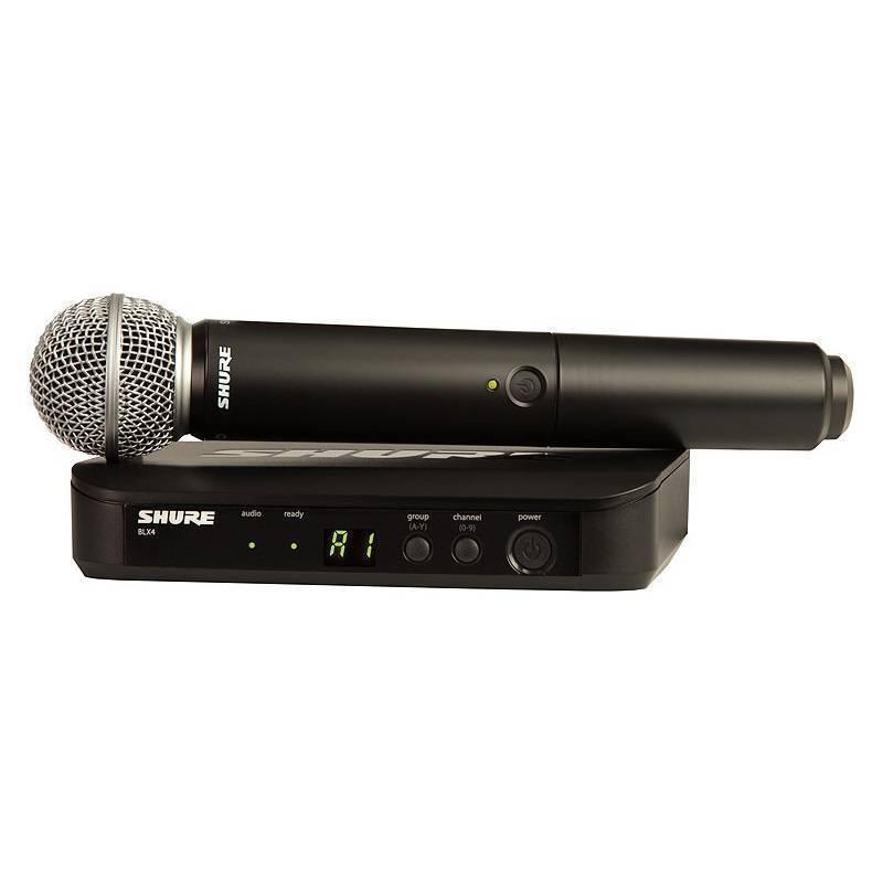Shure Shure BLX24/SM58 Handheld Wireless Mic System