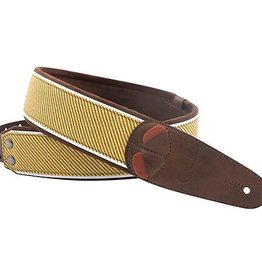 Right On Straps NEW Right On! Tweed Brown Guitar Strap