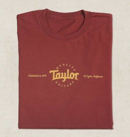 Taylor NEW Taylor Classic Tee - Red - Extra Large