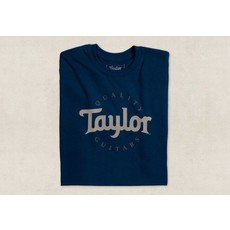 Taylor NEW Taylor Two Color Logo Tee - Navy - Extra Large