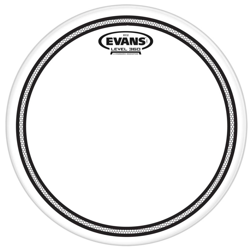 "Evans TT10EC2S 10"" EC2S Clear Head"