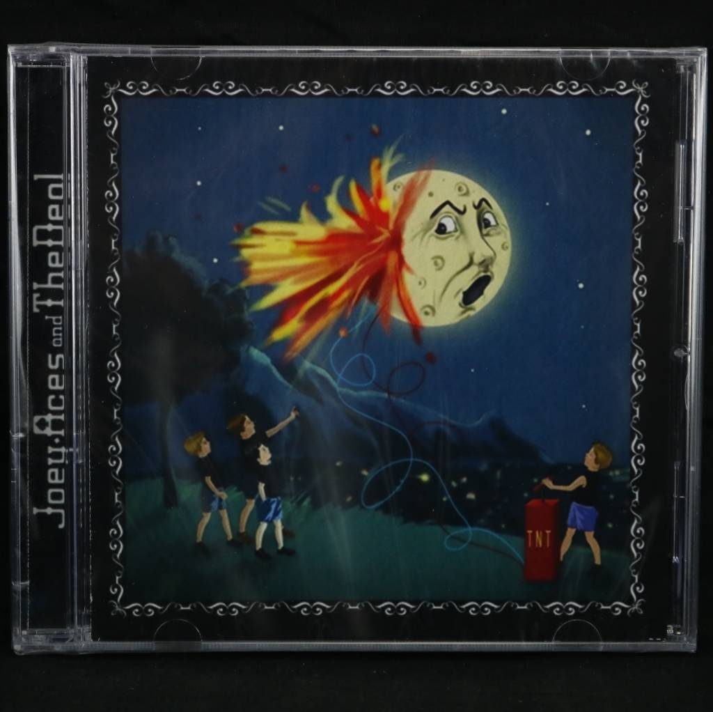 Local Music Joey Aces and The Deal - Blow Up The Moon (CD)
