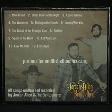 Local Music Jordan Allen and The Bellwethers - Rare Breed (CD)