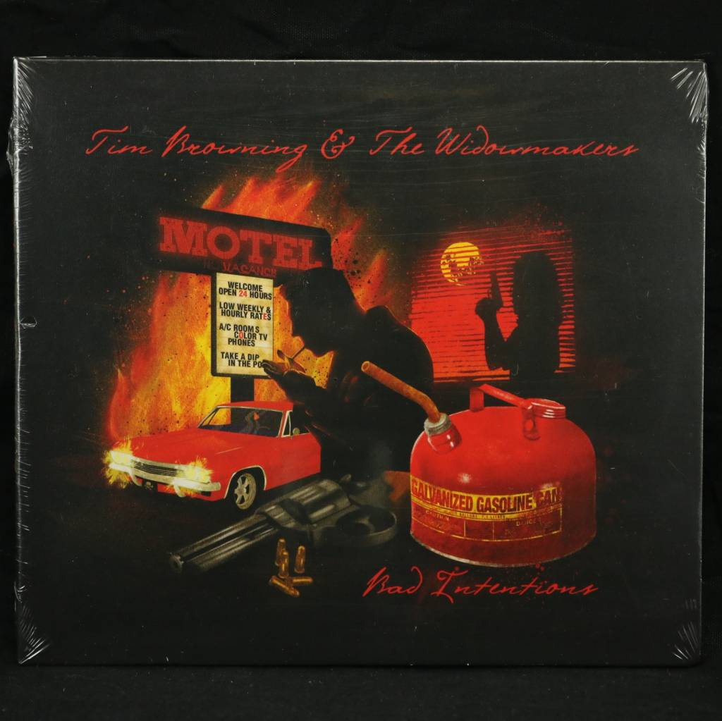 Local Music Tim Browning & The Widowmakers - Bad Intentions (CD)