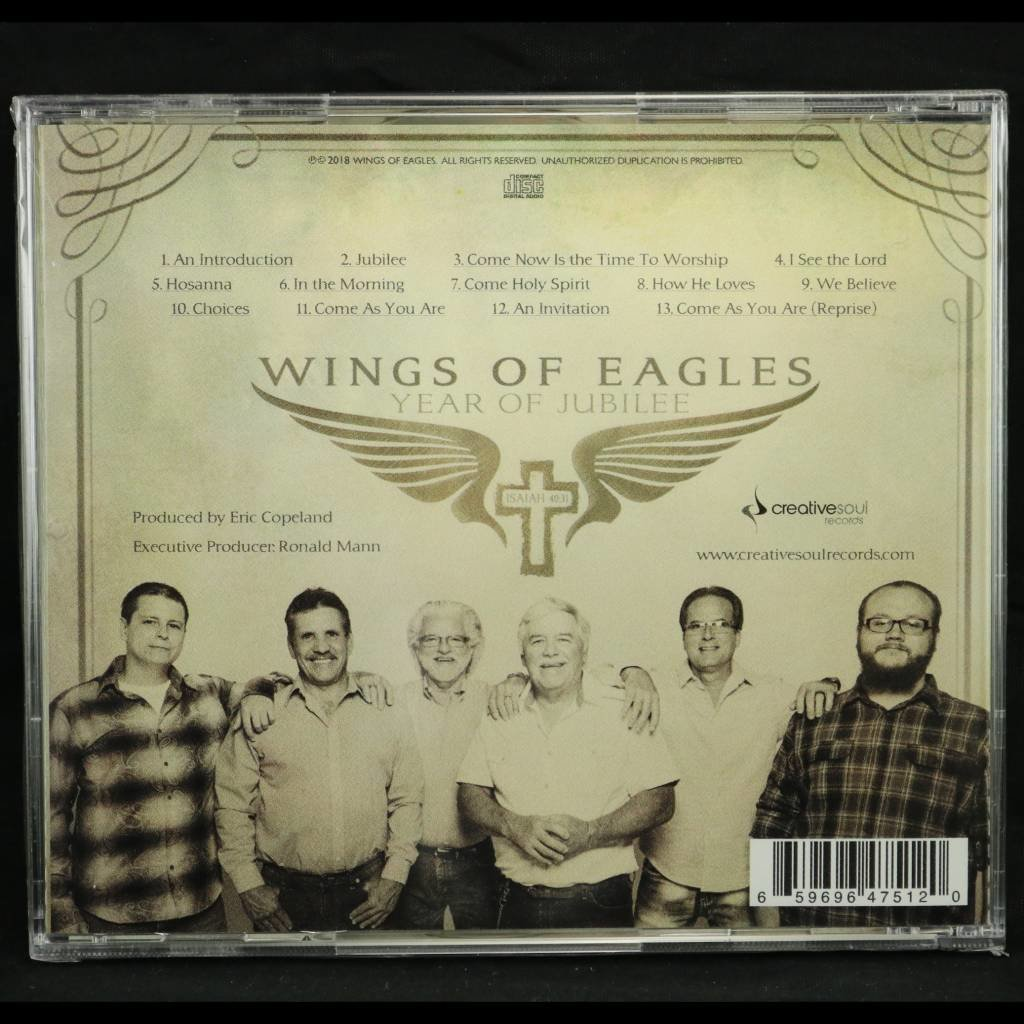 Local Music Wings Of Eagles - Year of Jubilee (CD)