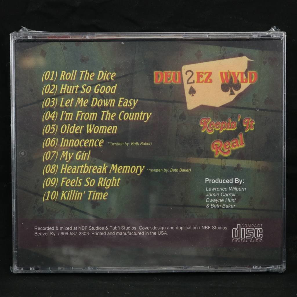 Local Music Deu2ez Wyld - Keepin' It Real (CD)