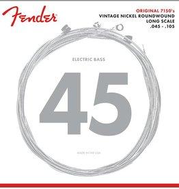 Fender NEW Fender 7150 Pure Nickel Bass Strings - .045-.105