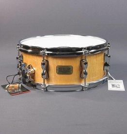 "Tama DEMO Tama S.L.P. Series Snare - 5.5"" x 14"" - Natural Figured Maple"