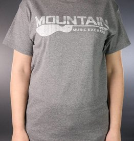 MME Mountain Music Exchange MME Worn Logo T-Shirt - Graphite Heather - Small