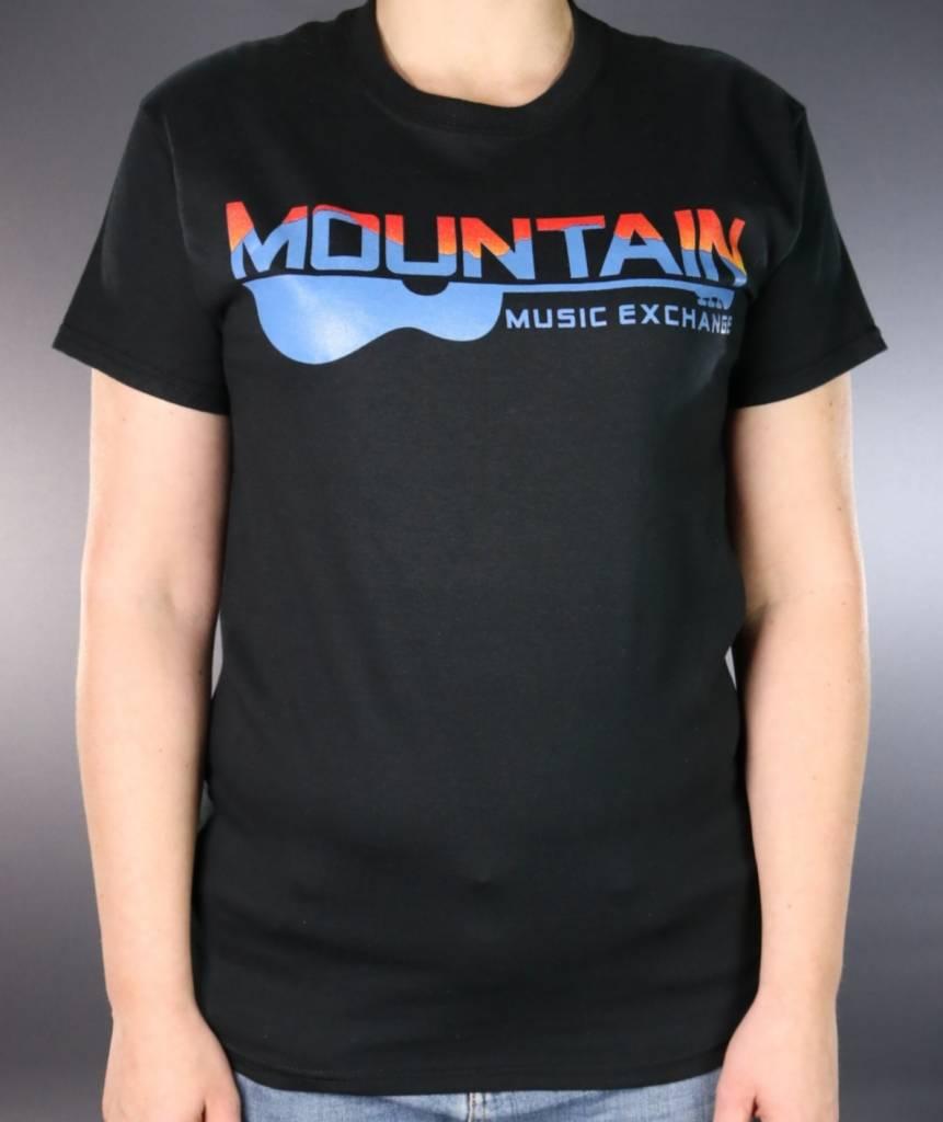 MME MME 2 Color Logo T-Shirt Black Medium