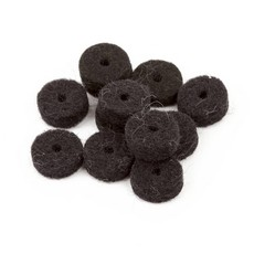 Fender NEW Fender Strap Button Felt Washers - Black