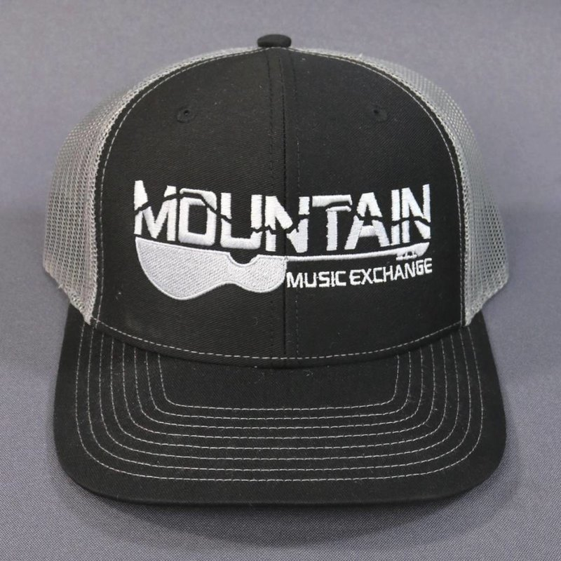 MME Mountain Music Exchange MME Trucker Hat - Black/Charcoal