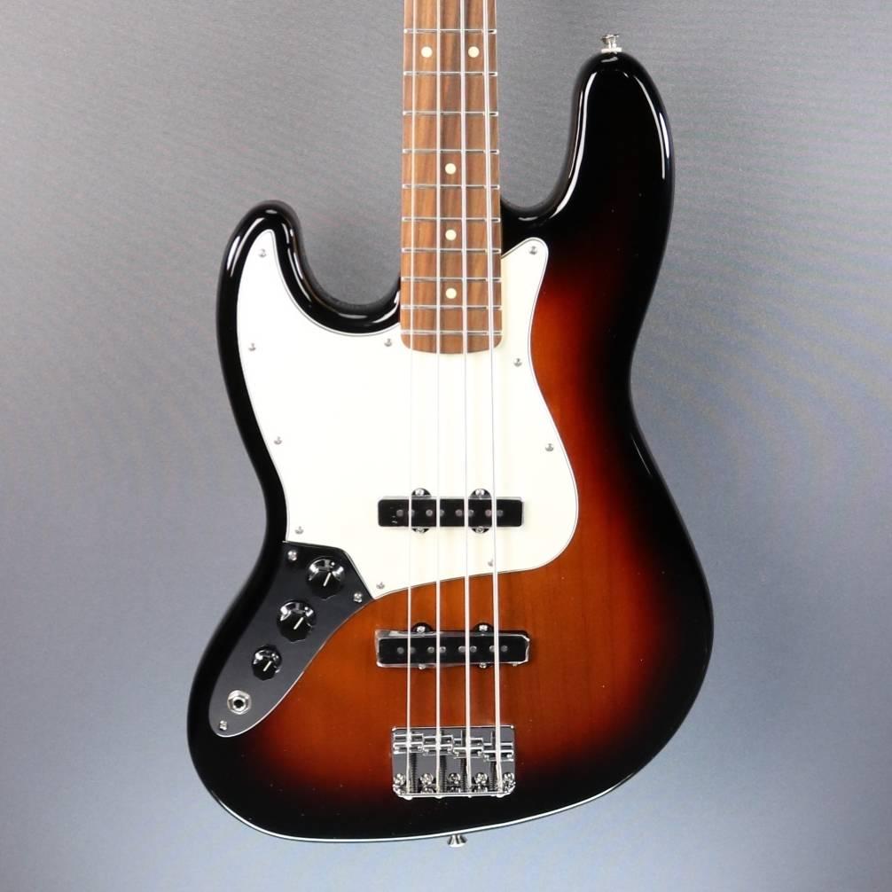 DEMO Fender Player Jazz Bass LH - 3 Tone Sunburst (024)