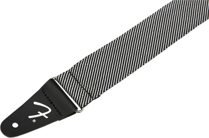 Fender NEW Fender Modern Tweed Strap - White/Black