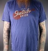Gretsch NEW Gretsch G6120 Tee - Navy - M