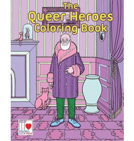 Stacked Deck Press The Queer Heroes Coloring Book