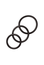 Cockring set: Rubber O-Ring (Sportsheets) set of 4