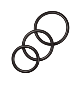 Cockring set: Rubber O-Ring (Sportsheets) set of 4
