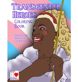 Stacked Deck Press Transgender Heroes Coloring Book