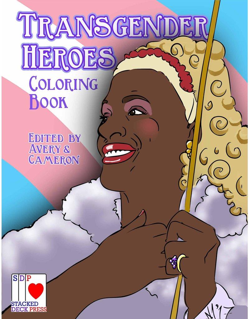 Stacked Deck Press Transgender Heroes Coloring Book
