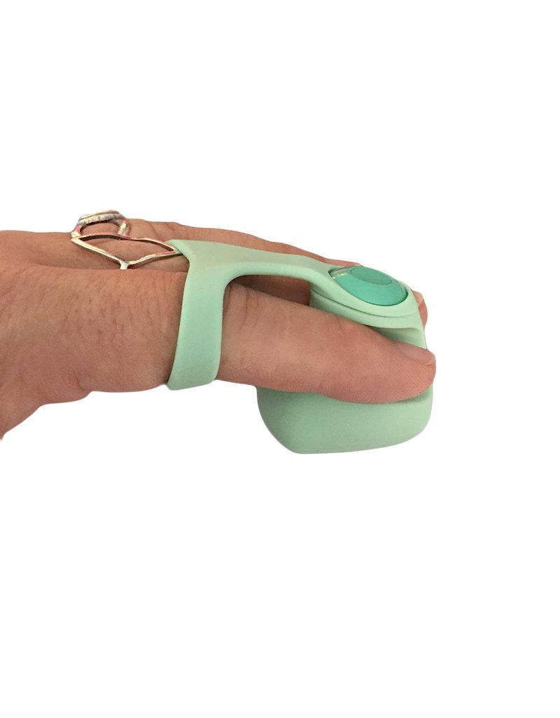 Dame Fin Finger Vibe Jade