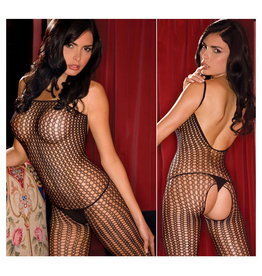 Bodystocking: Quarter Crochet
