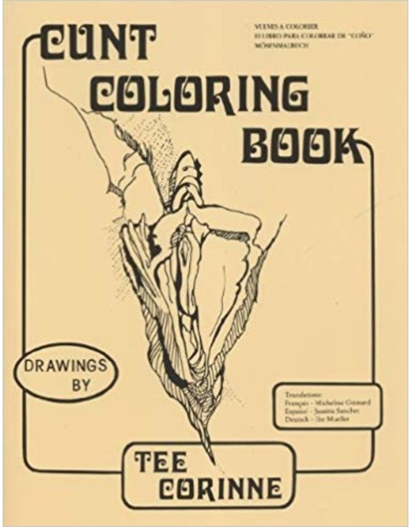 Microcosm Publishing Cunt Coloring Book