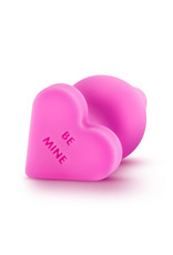 Blush Naughty Heart Plug