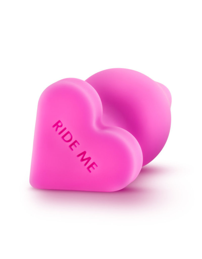 Blush Naughtier Heart Plug