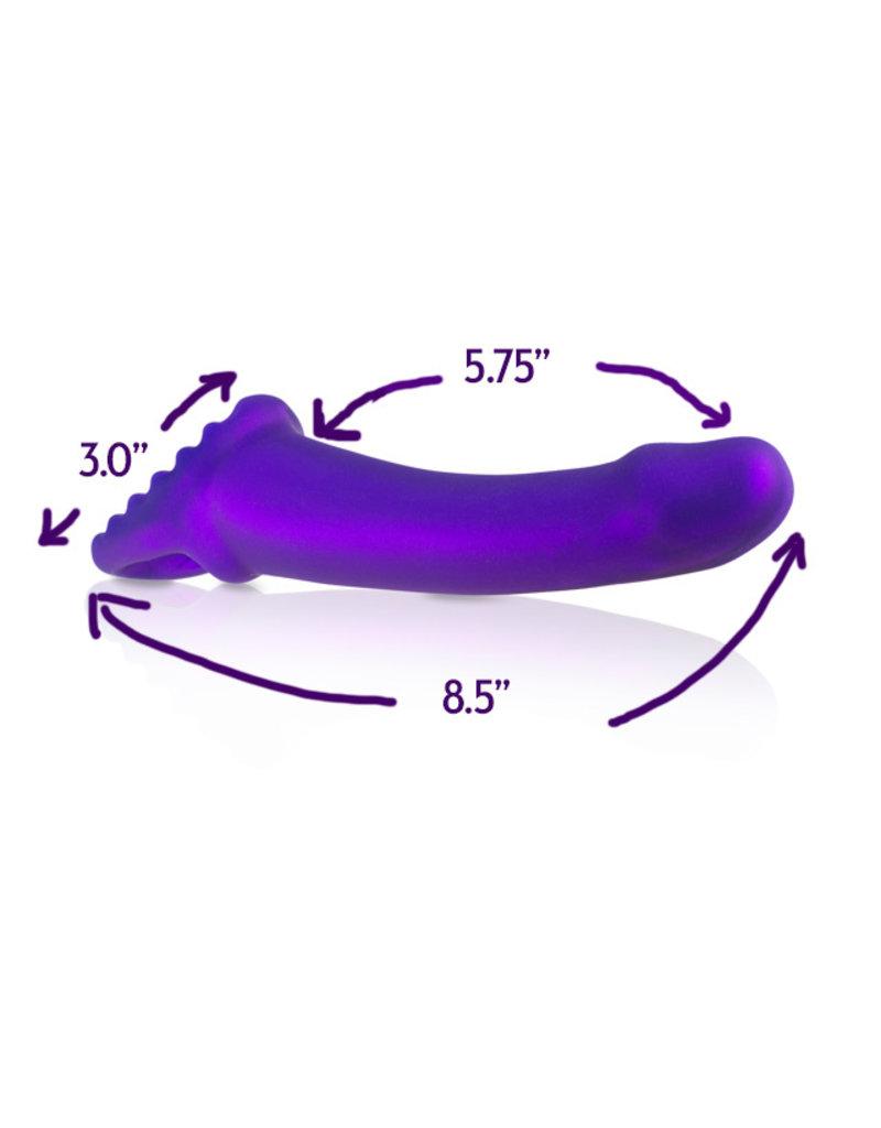 Fuze/Happy Valley Perk Dildo: Purple