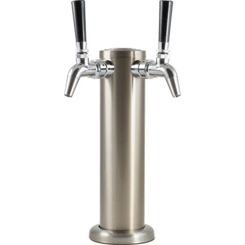 Stainless Steel Draft Tower with Intertap Faucets