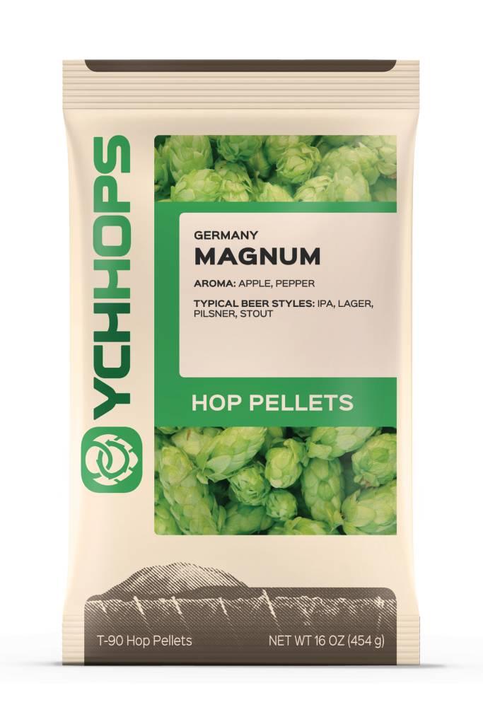 YCH Hops Magnum Hop Pellets 1 LB (German)(2017)