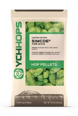 YCH Hops Simcoe Hop Pellets 1 LB (US)(2017)