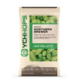 YCH Hops Northern Brewer Hop Pellets 1 LB (German)(2017)