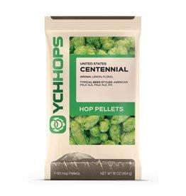 YCH Hops Centennial Hop Pellets 1 LB (US)(2017)