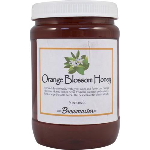 Brewmaster Orange Blossom Honey (3 lbs)