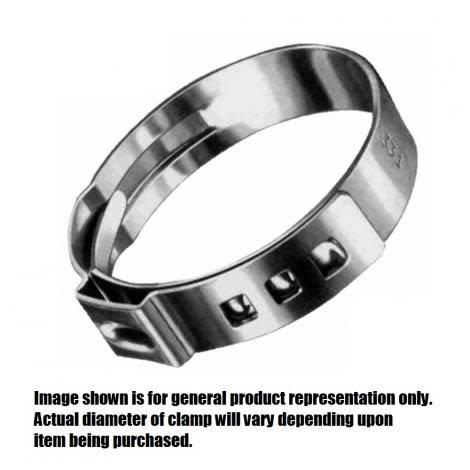 Foxx Equipment Company O-clamp Stepless 11/16 (17.0)