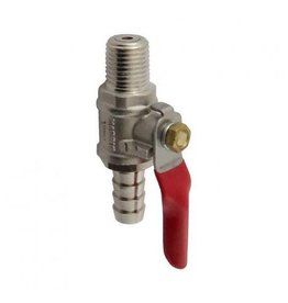 "Foxx Equipment Company Check Valve 1/4"" MPT X 3/8"" B (CPB)"