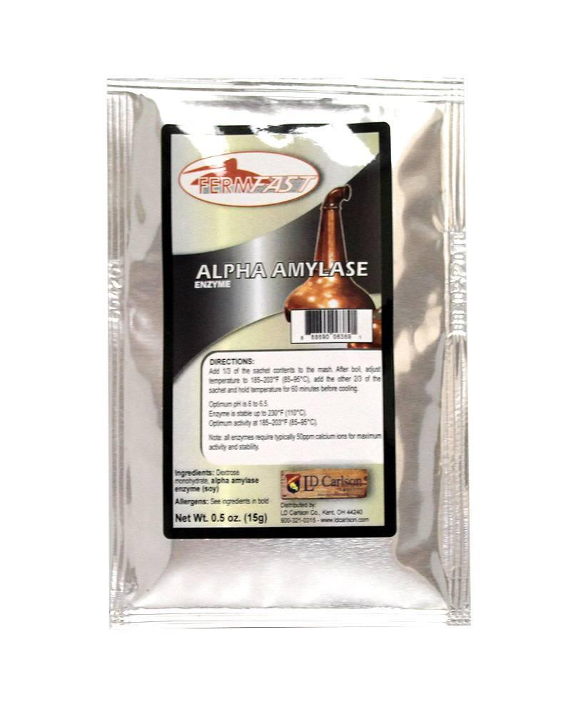 FermFast Alpha Amylase Enzyme 0.5 oz