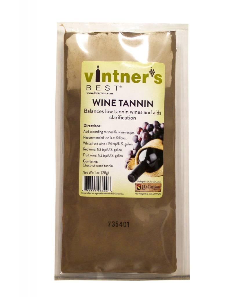 LD Carlson Wine Tannin Powder 1 OZ